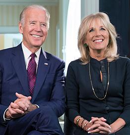 Vice President Joe Biden and Dr. Jill Bide