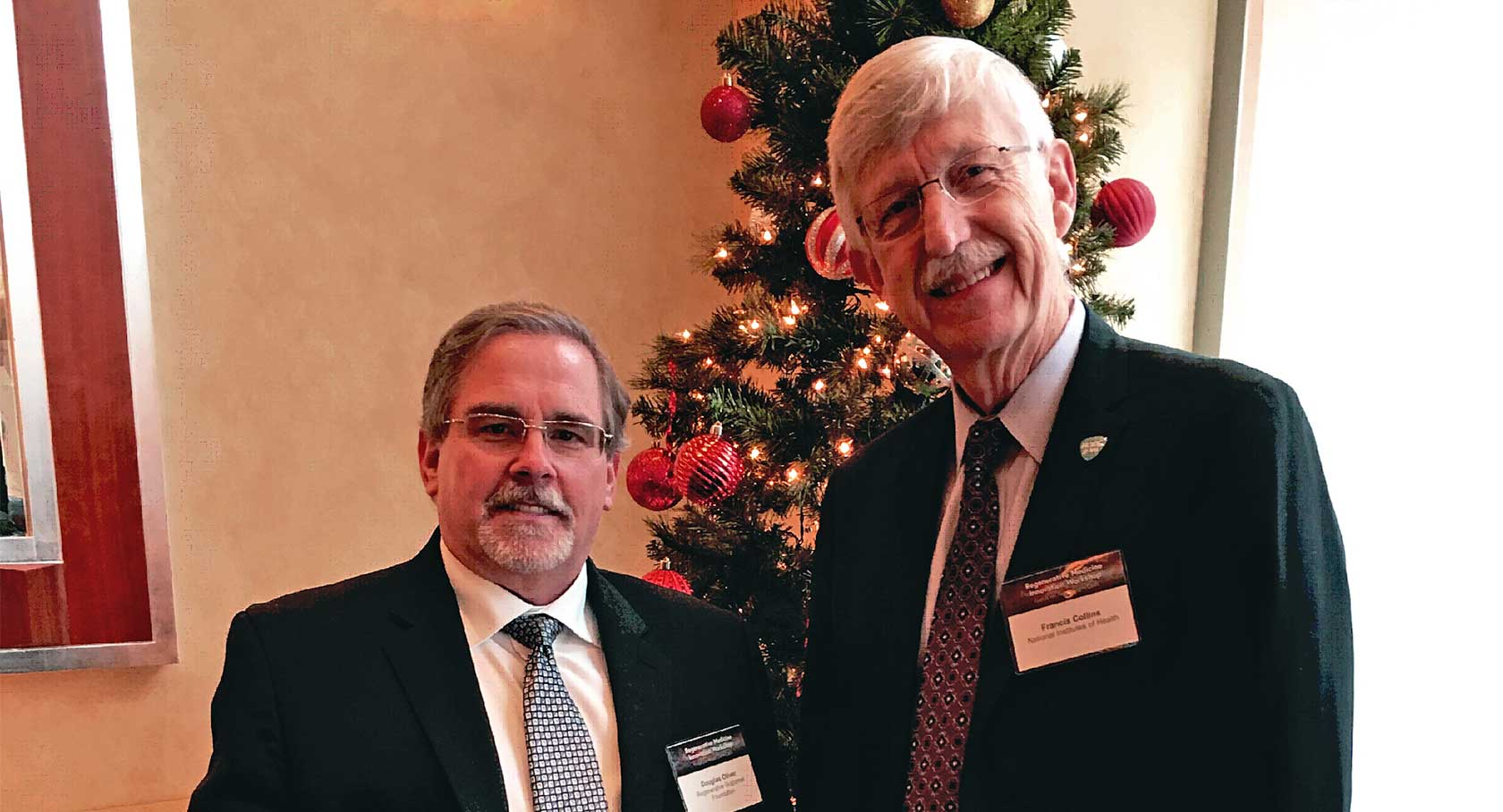 Pioneers of Hope: Patient Advocate Doug Oliver's Interview of Dr. Francis Collins, Director, National Institutes of Health (NIH)