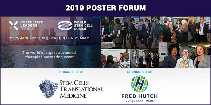 Interdisciplinary in scope! The World Stem Cell Summit & Phacilitate Leaders World Poster Forum! Abstract deadline December 29