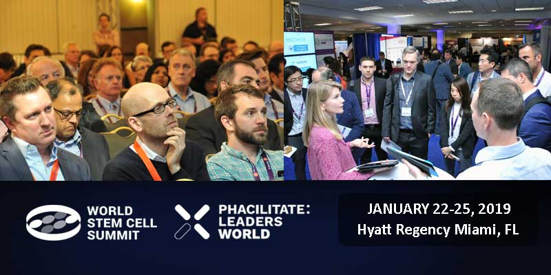 World Stem Cell Summit & Phacilitate Leaders World is the collaborative event with an explosive upside that will change your view of the future!